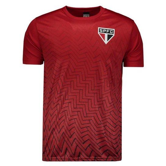 Camisa São Paulo Bryan SPFC Masculina - Vermelho