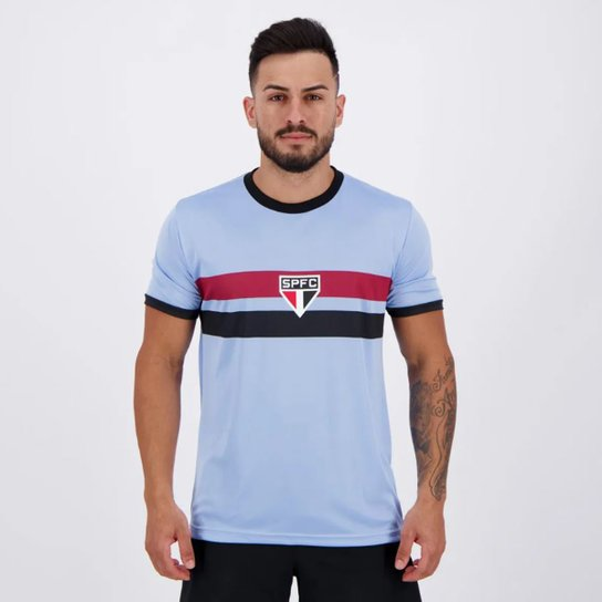 Camisa São Paulo Celeste - Masculina - Azul