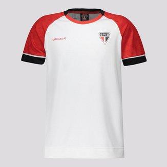 Camisa São Paulo Cell Infantil Branca