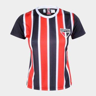 Camisa São Paulo Change Feminina - Preto e Oficial