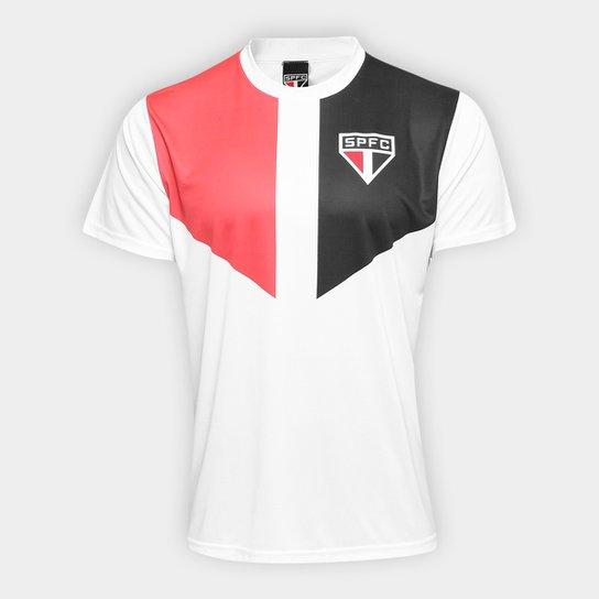 Camisa São Paulo Edição Limitada Masculina - Branco+Vermelho