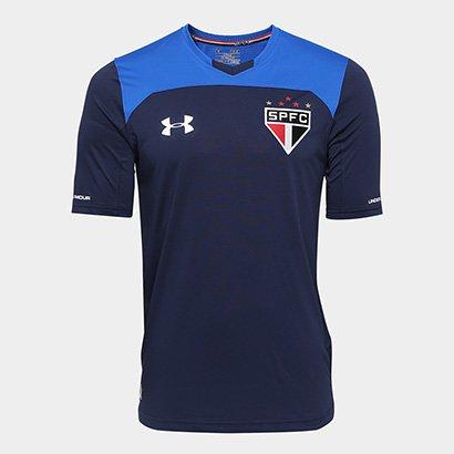 Camisa São Paulo Goleiro 17 18 S nº - Torcedor Under Armour Masculina 2cd672fe1232e