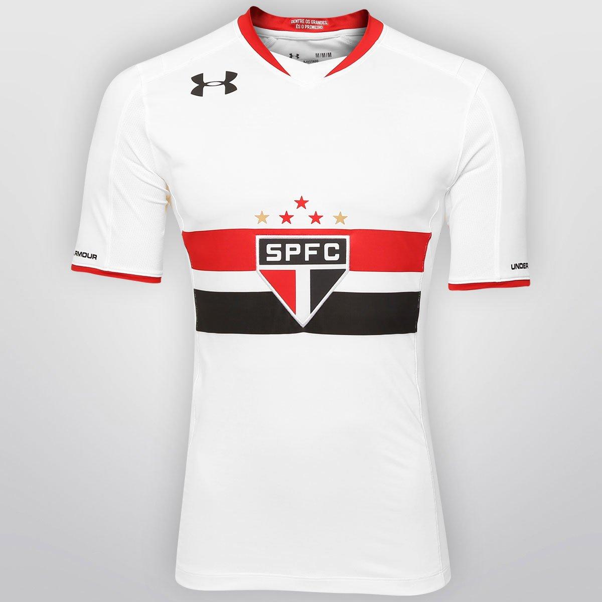 fb71b9a291 Camisa São Paulo I 15 16 s n° Torcedor Under Armour Feminina - Compre Agora