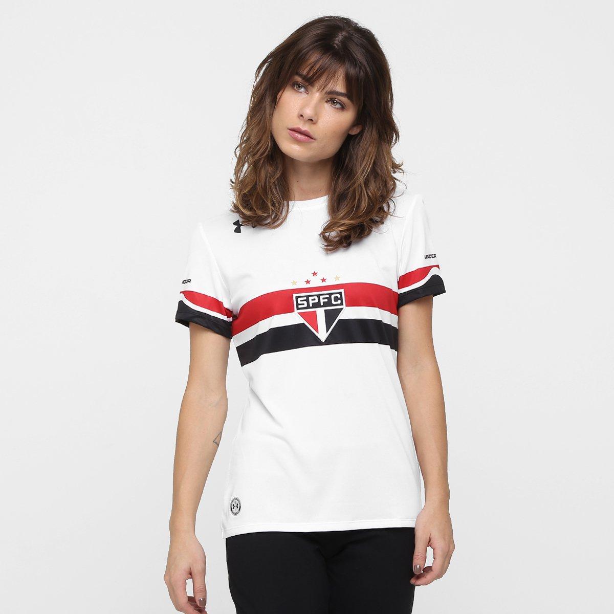 8c8a206fad Camisa São Paulo I 16 17 s nº - Torcedor Under Armour Feminina ...
