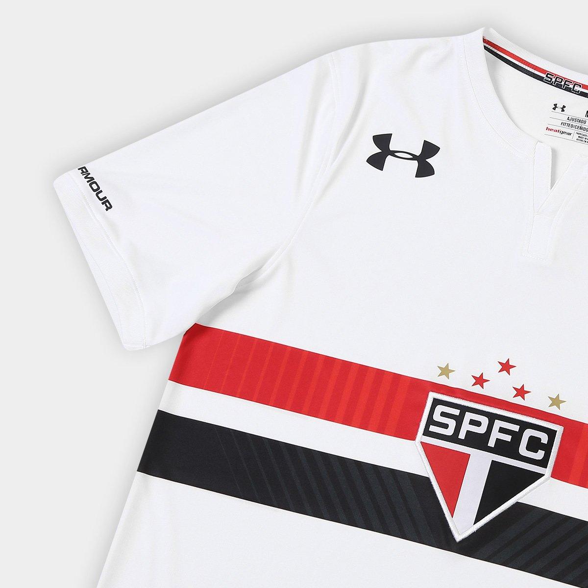 0ffa20a4d5 Camisa São Paulo I 17 18 Diego Souza N° 9 Under Armour Masculina ...
