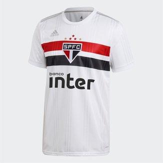 Camisa São Paulo I 20/21 s/n° Torcedor Adidas Masculina