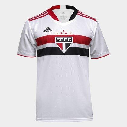 Camisa São Paulo I 21/22 s/n° Torcedor Adidas Masculina