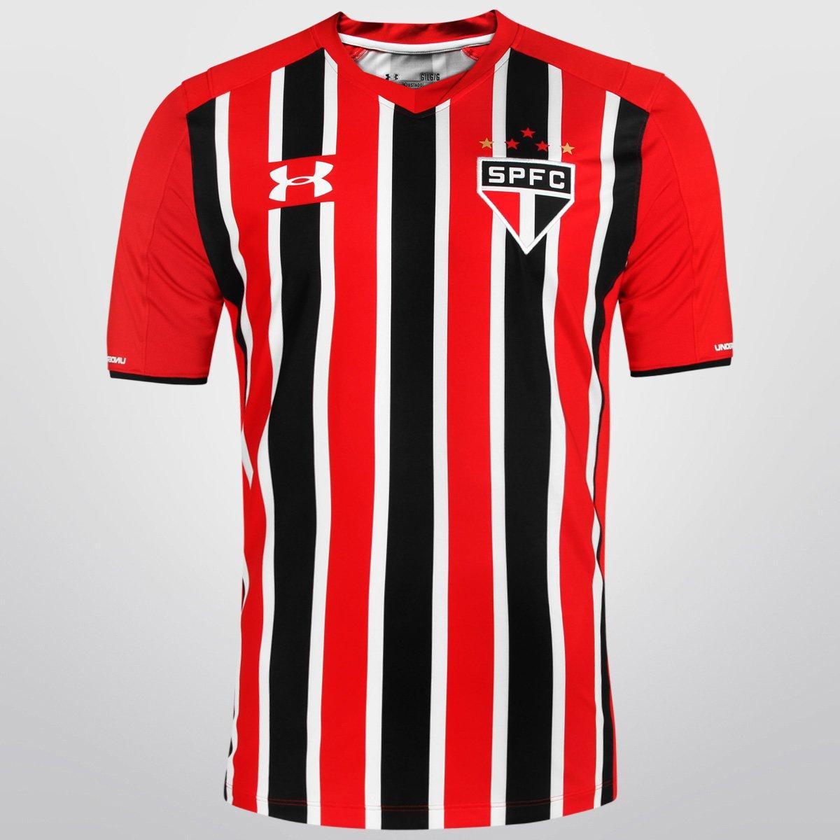 3f0ac1411d Camisa São Paulo II 15 16 s nº - Torcedor Under Armour Masculina - Compre  Agora
