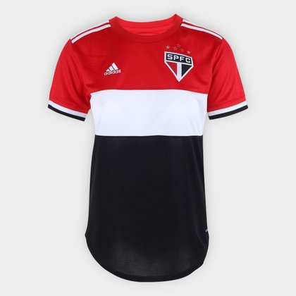 Camisa São Paulo III 21/22 s/n° Torcedor Adidas Feminina