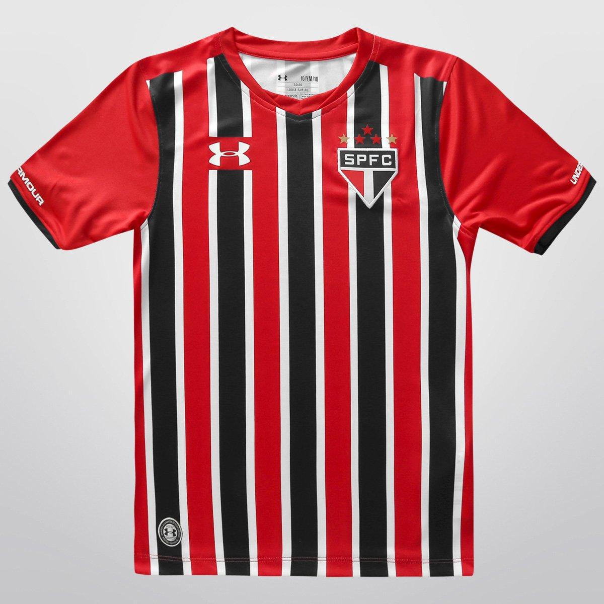 df52a89fd5 Camisa São Paulo Infantil II 15 16 s n° Torcedor Under Armour - Compre  Agora