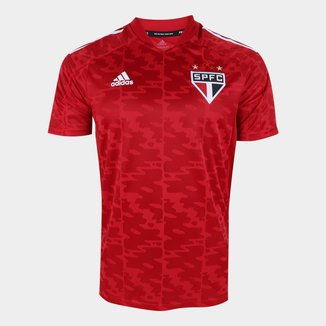 Camisa São Paulo Pré-Jogo 21/22 Adidas Masculina