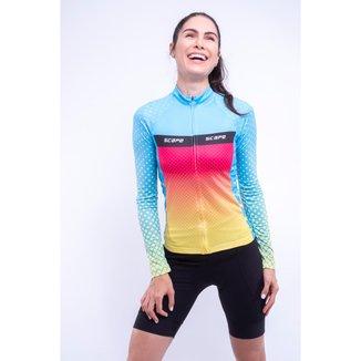 Camisa Scape Happy ML Feminina