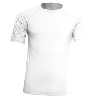 Camisa Segunda Pele Manga Curta em Poliamida C/ Elastano UV Compressão Slim