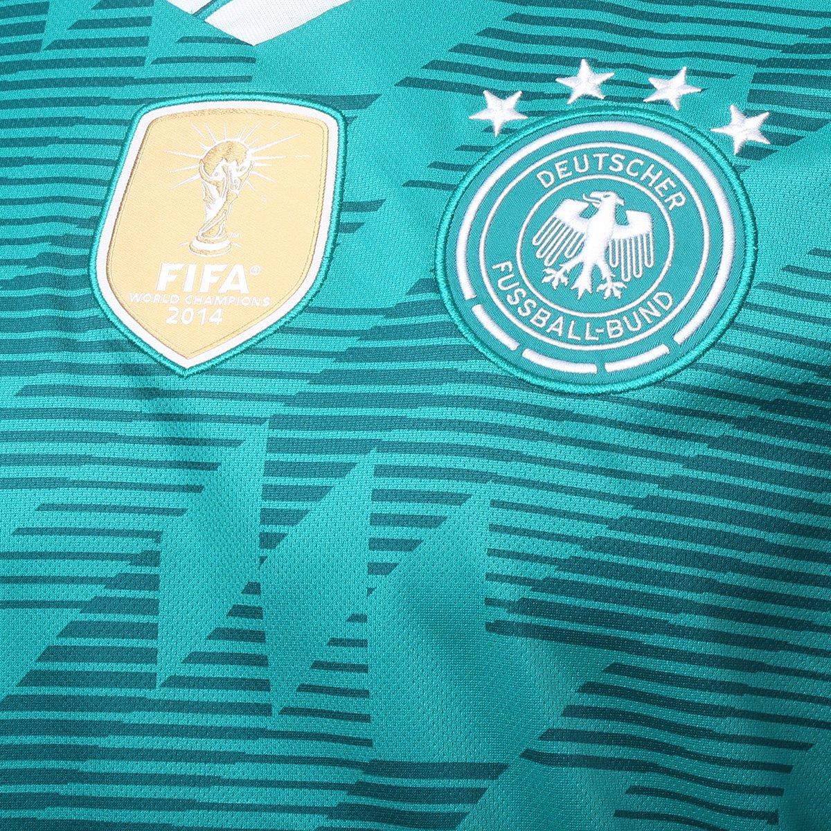 0686c50879 ... Camisa Seleção Alemanha Away 18 19 s n° Torcedor Adidas Masculina ...