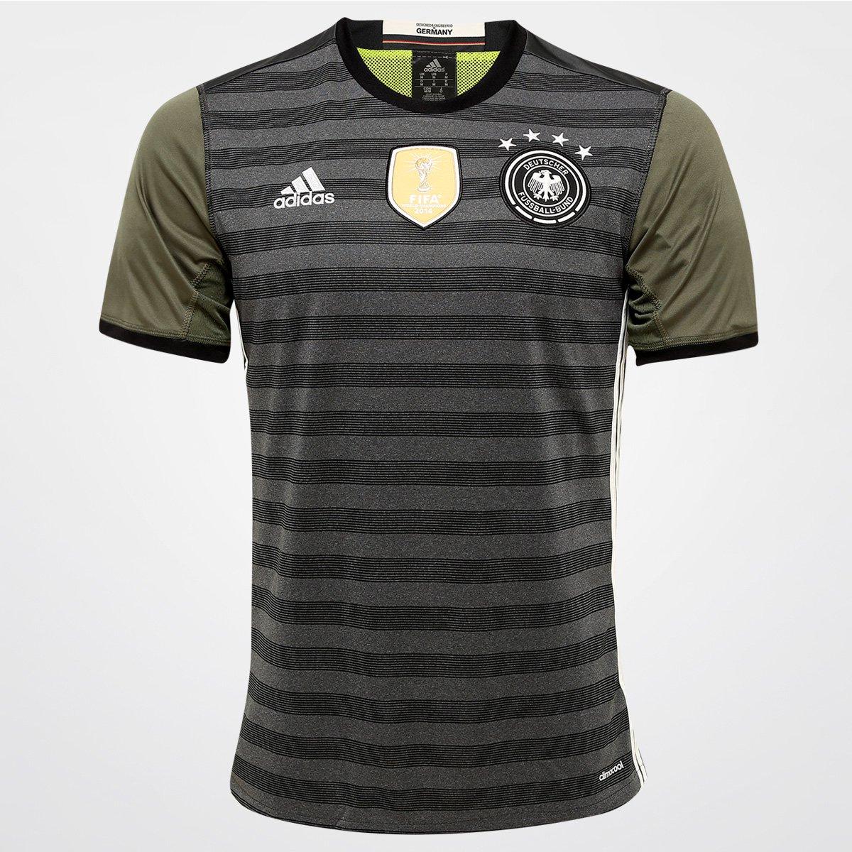 Camisa Seleção Alemanha Away 2016 s nº Torcedor Adidas Masculina - Compre  Agora  744e45d87eb44