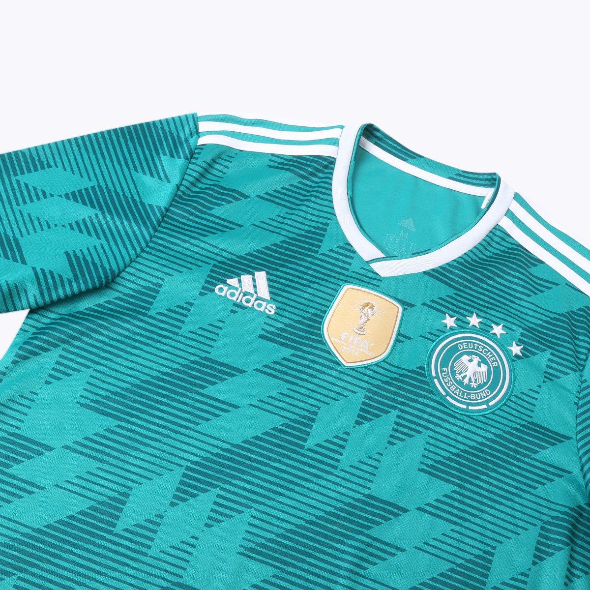 4bac05038a ... Camisa Seleção Alemanha Away 2018 n° 21 Gündogan - Torcedor Adidas  Masculina