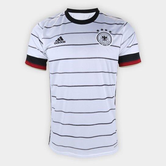 Camisa Seleção Alemanha Home 19/20 Torcedor s/nº Adidas Masculina - Branco