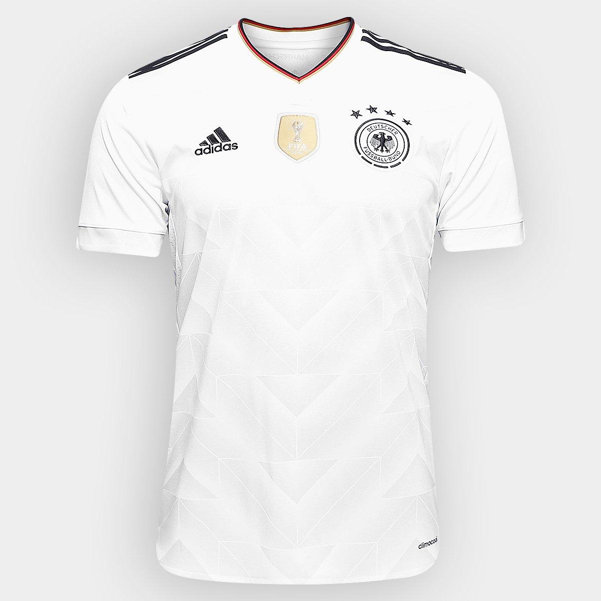 Camisa Seleção Alemanha Home 2017 s nº Torcedor Adidas Masculina - Compre  Agora  e005acdbfa6ed