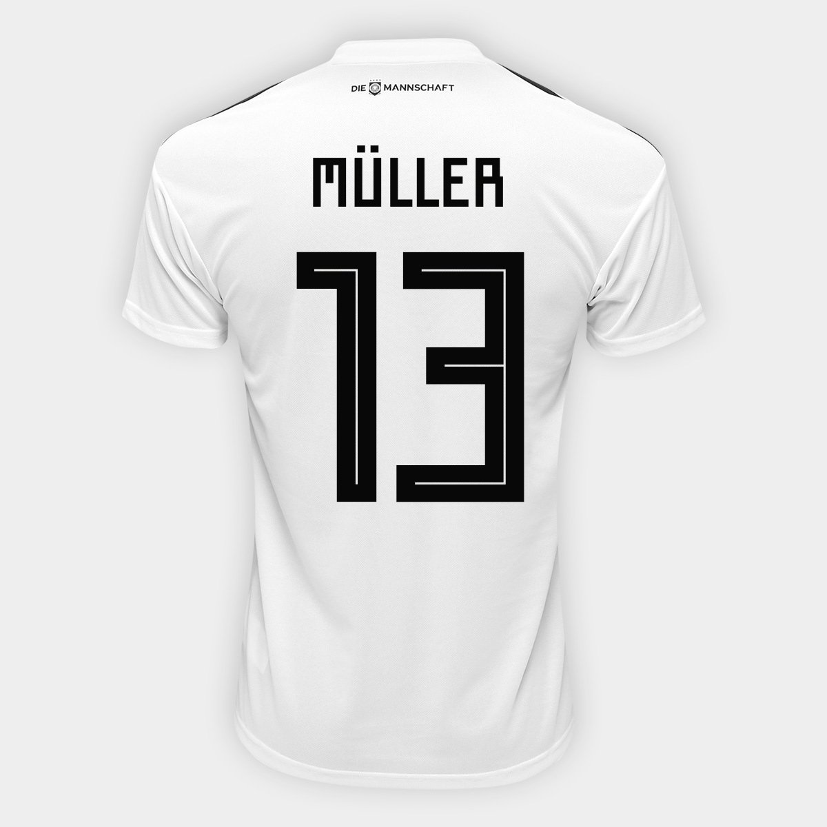 Camisa Seleção Alemanha Home 2018 n° 13 Müller - Torcedor Adidas Masculina  - Compre Agora  7fa7092f8fe
