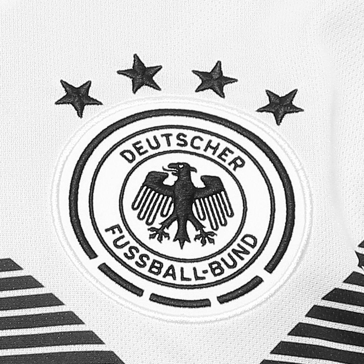 61bf9a52aa ... Camisa Seleção Alemanha Home 2018 n° 14 Goretzka - Torcedor Adidas  Masculina ...
