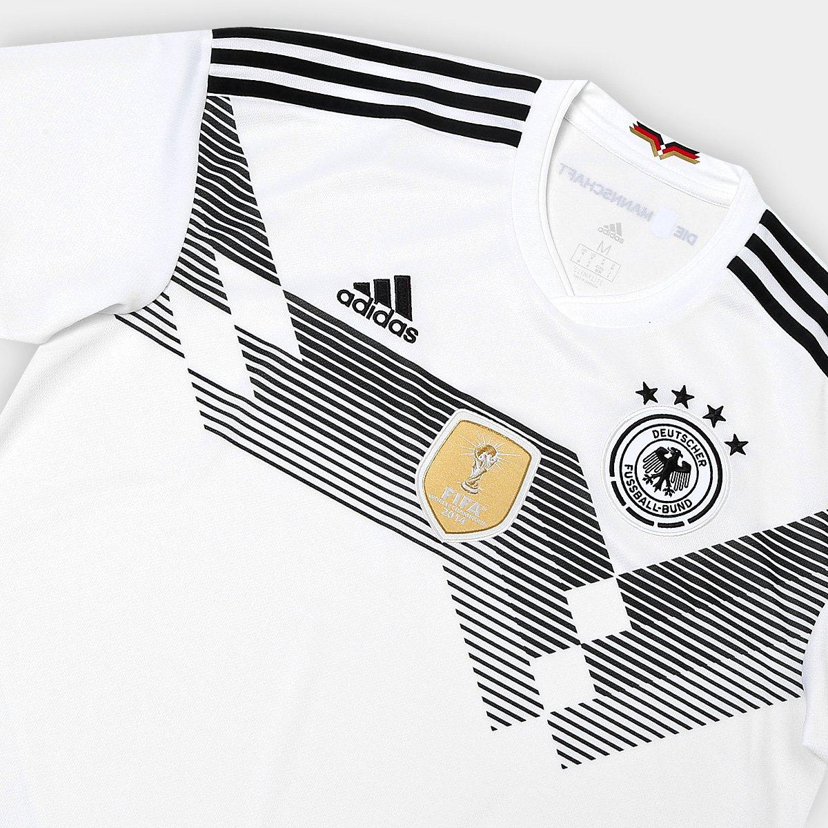 6be8eff93c ... Camisa Seleção Alemanha Home 2018 n° 14 Goretzka - Torcedor Adidas  Masculina