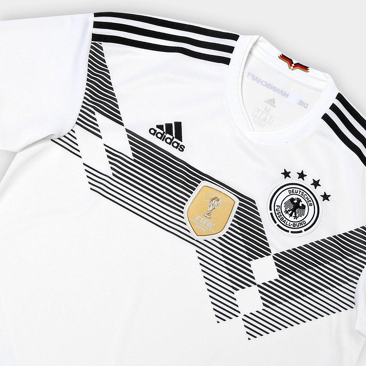 Camisa Seleção Alemanha Home 2018 s n° Torcedor Adidas Masculina ... 1570041b62ca2