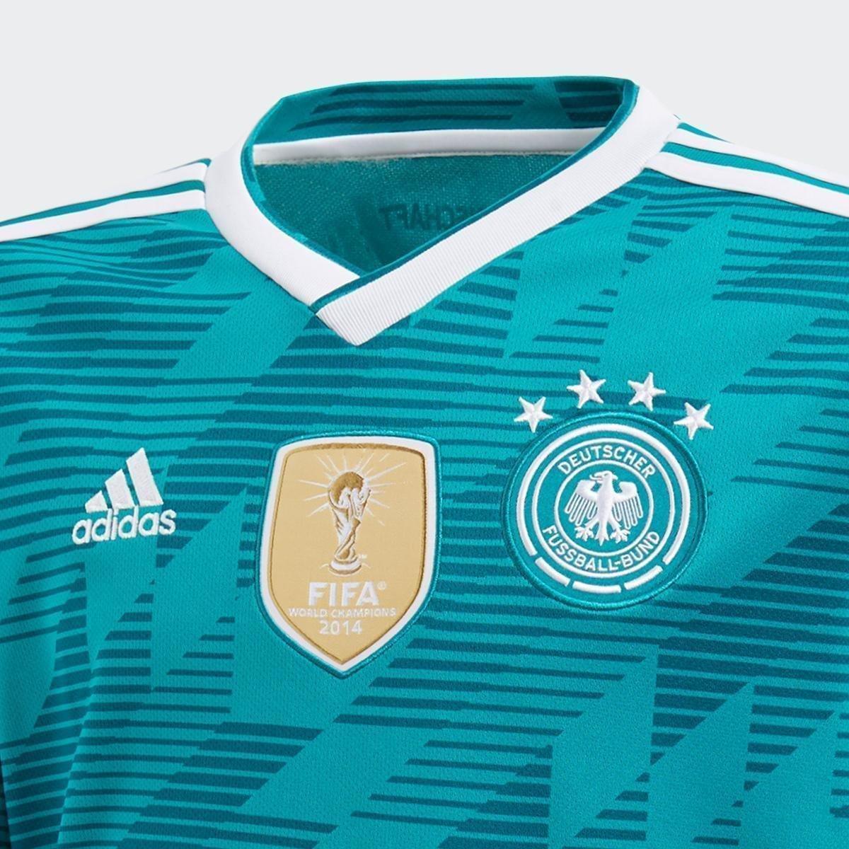 b0a644c0c6 ... Camisa Seleção Alemanha Infantil Away 18 19 s n° Torcedor Adidas ...