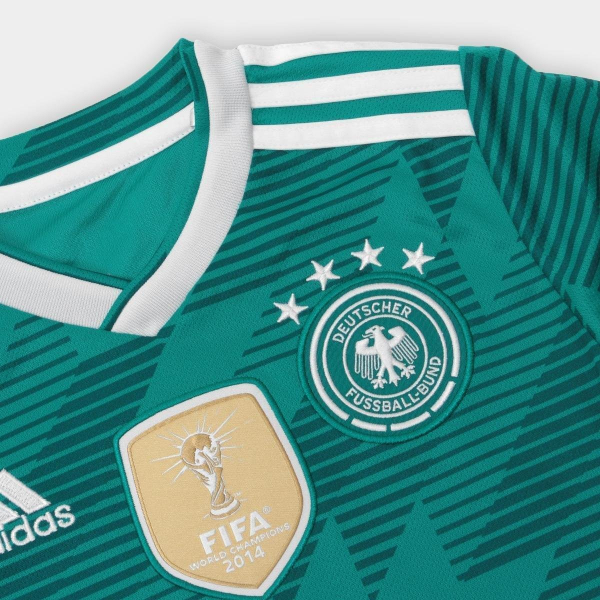 6be2f03ab9 Camisa Seleção Alemanha Infantil Away 18 19 s n° Torcedor Adidas ...