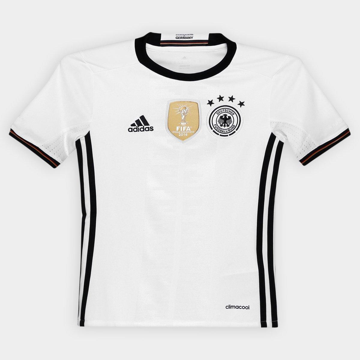15bf5a59eaea7 Camisa Seleção Alemanha Infantil Home 2016 s nº Torcedor Adidas - Compre  Agora