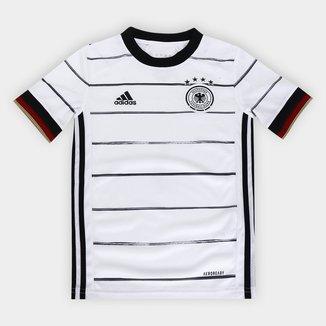 Camisa Seleção Alemanha Infantil Home 20/21 s/nº Torcedor Adidas