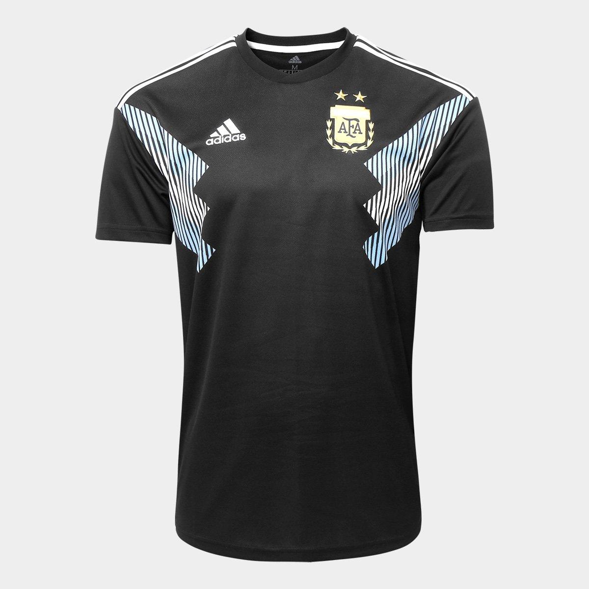 ... Camisa Seleção Argentina Away 2018 n° 21 Dybala - Torcedor Adidas  Masculina ... a102fb5176e46