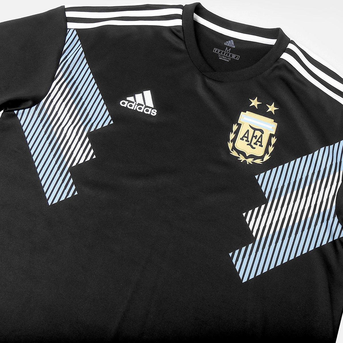 7dbb59ae74 Camisa Seleção Argentina Away 2018 n° 3 Tagliafico - Torcedor Adidas  Masculina ...