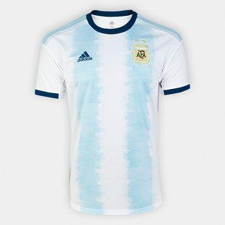 Camisa Seleção Argentina Home 19/20 s/n° Torcedor Adidas Masculina