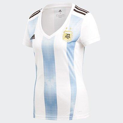 Camisa Seleção Argentina Home 2018 S n° Torcedor Adidas Feminina 9e70f4e49b410