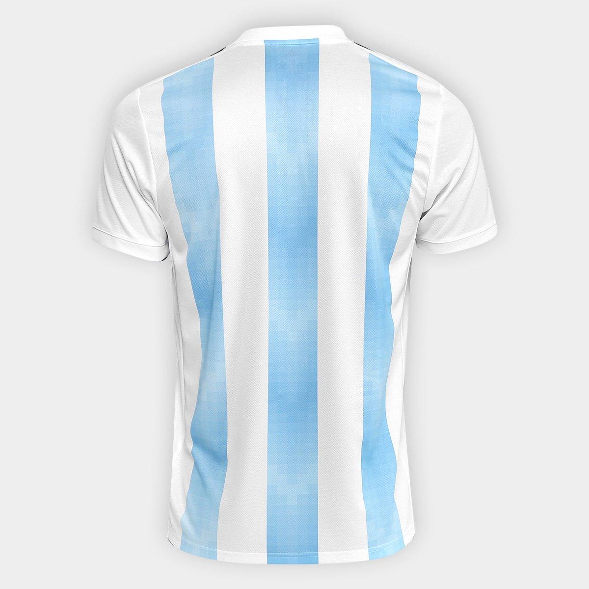 ... Camisa Seleção Argentina Home 2018 s n° Torcedor Adidas Masculina ... 3df00e0817348