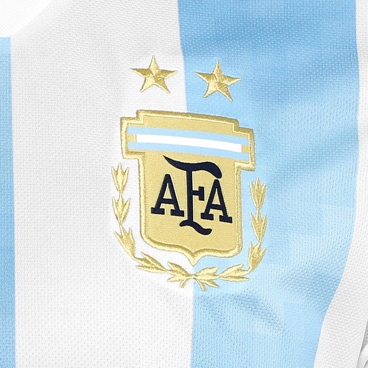 ... Camisa Seleção Argentina Home 2018 s n° Torcedor Adidas Masculina ... 2e3dcb5a8acfb