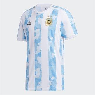 Camisa Seleção Argentina Home 20/21 s/nº Torcedor Adidas