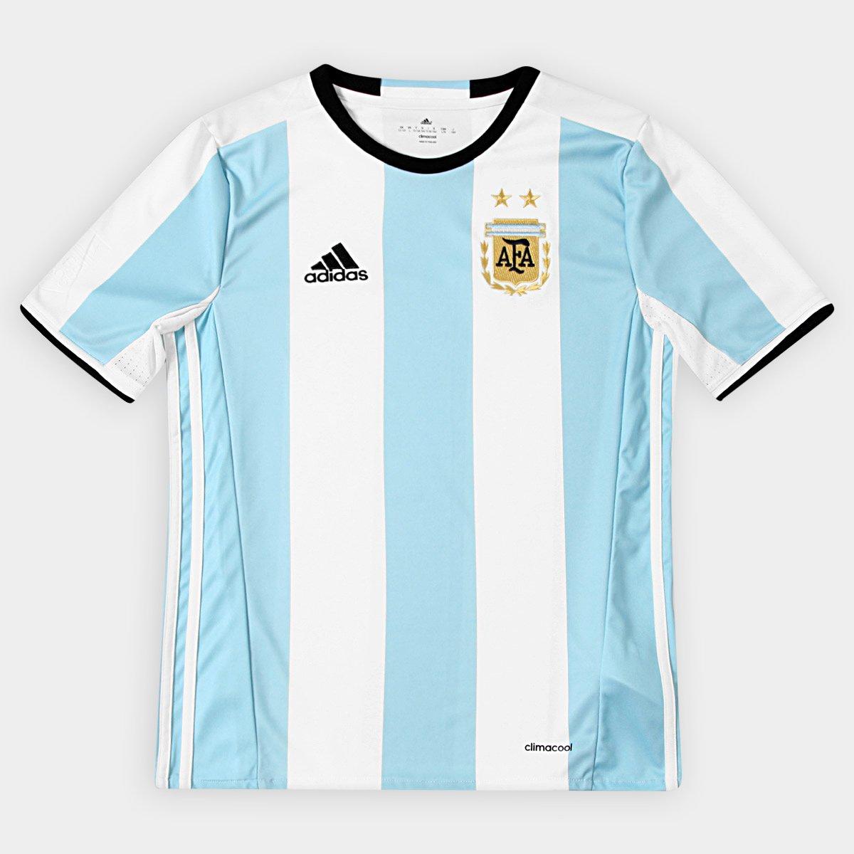 e4a0e188f7 Camisa Seleção Argentina Infantil Home 2016 s nº - Torcedor Adidas - Compre  Agora