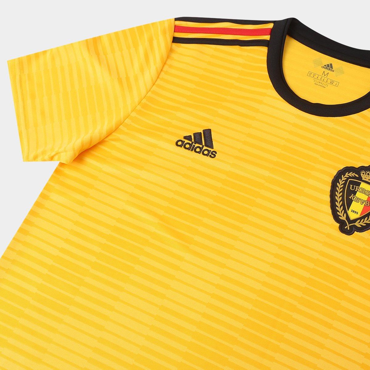 ... Camisa Seleção Bélgica Away 2018 n° 7 De Bruyne - Torcedor Adidas  Masculina e7e25ef56628b