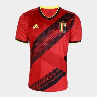 Camisa Seleção Bélgica Home 20/21 Torcedor s/nº Adidas Masculina
