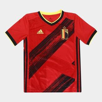 Camisa Seleção Bélgica Infantil Home 20/21 s/nº Adidas