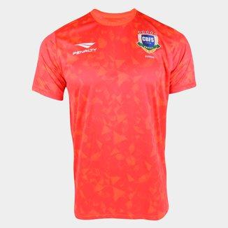 Camisa Seleção Brasil 20/21 Aquecimento Penalty Masculina