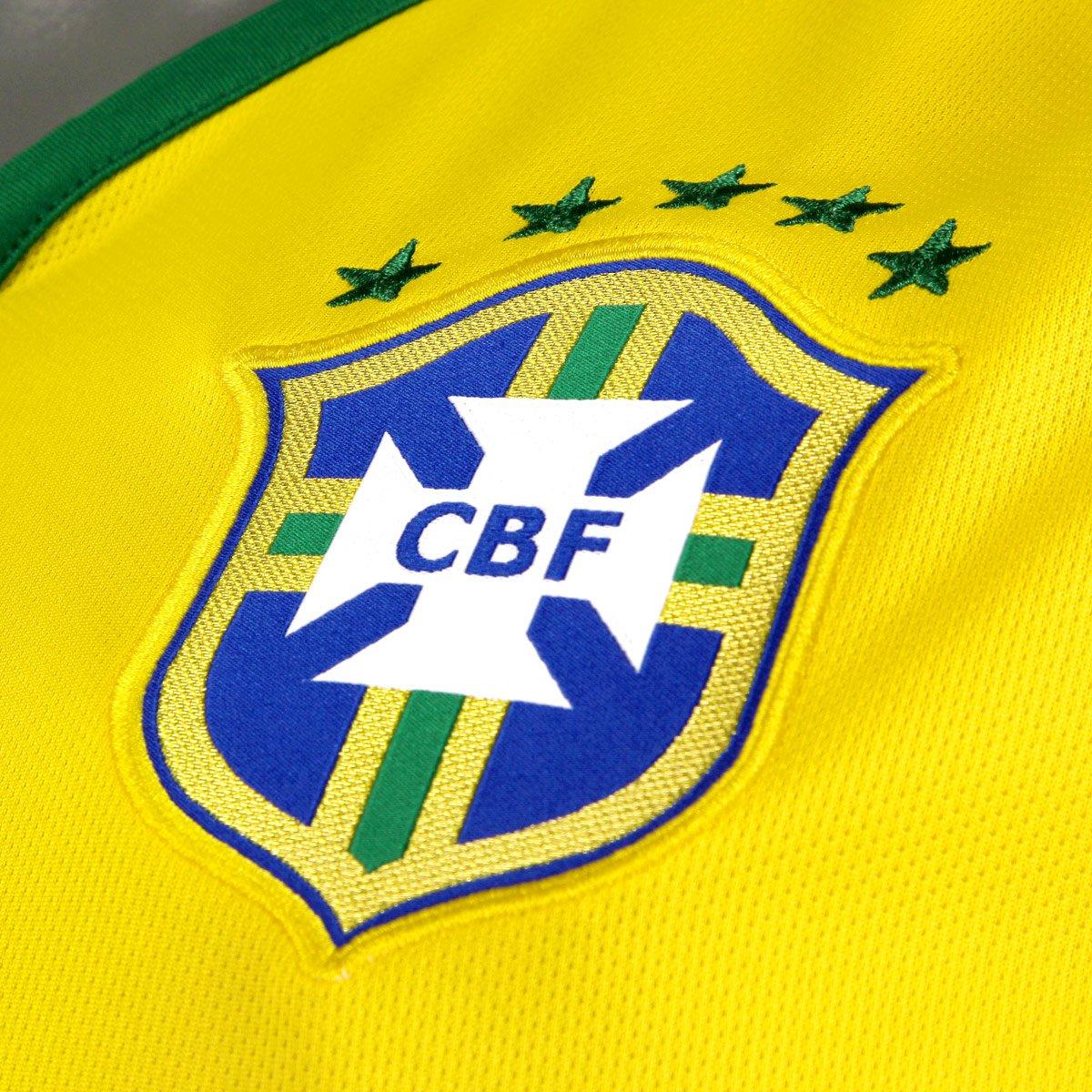 Camisa Seleção Brasil I 14 15 nº 10 - Torcedor Nike Masculina ... a8fa7f5713b34