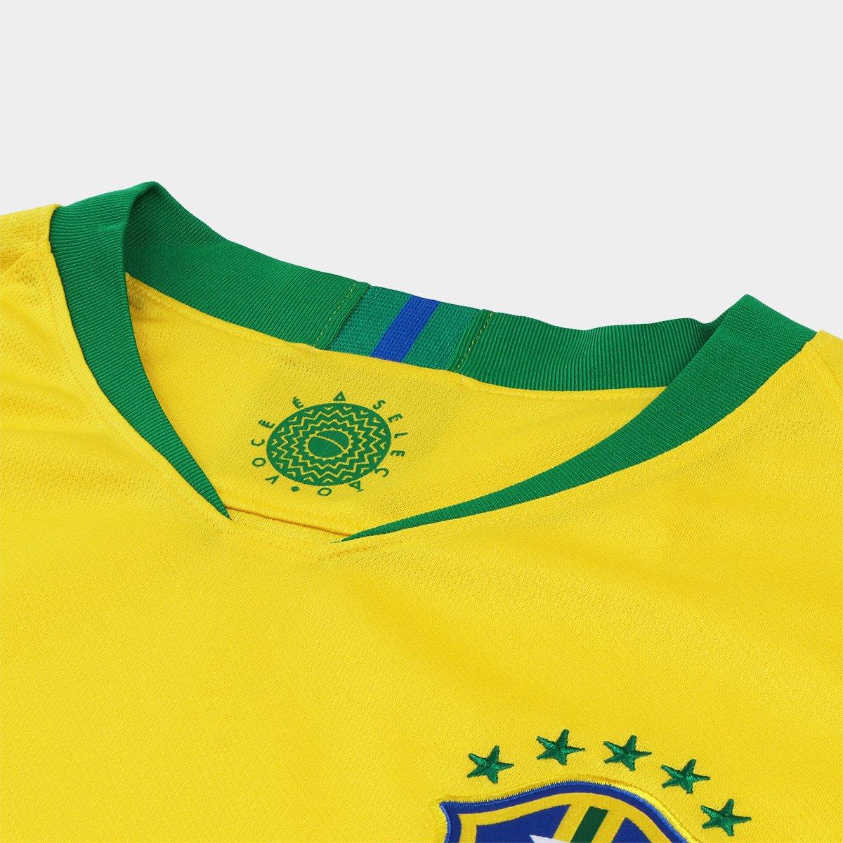 Camisa Seleção Brasil I 2018 nº 12 Marcelo Torcedor Nike b7d1c845159b7