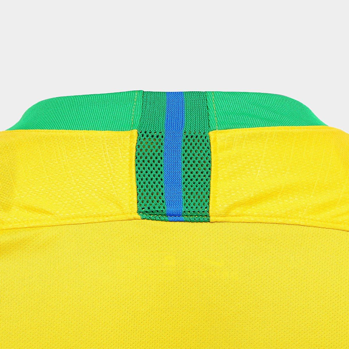 3d48eefa3f Camisa Seleção Brasil I 2018 nº 14 Danilo - Torcedor Nike Masculina ...