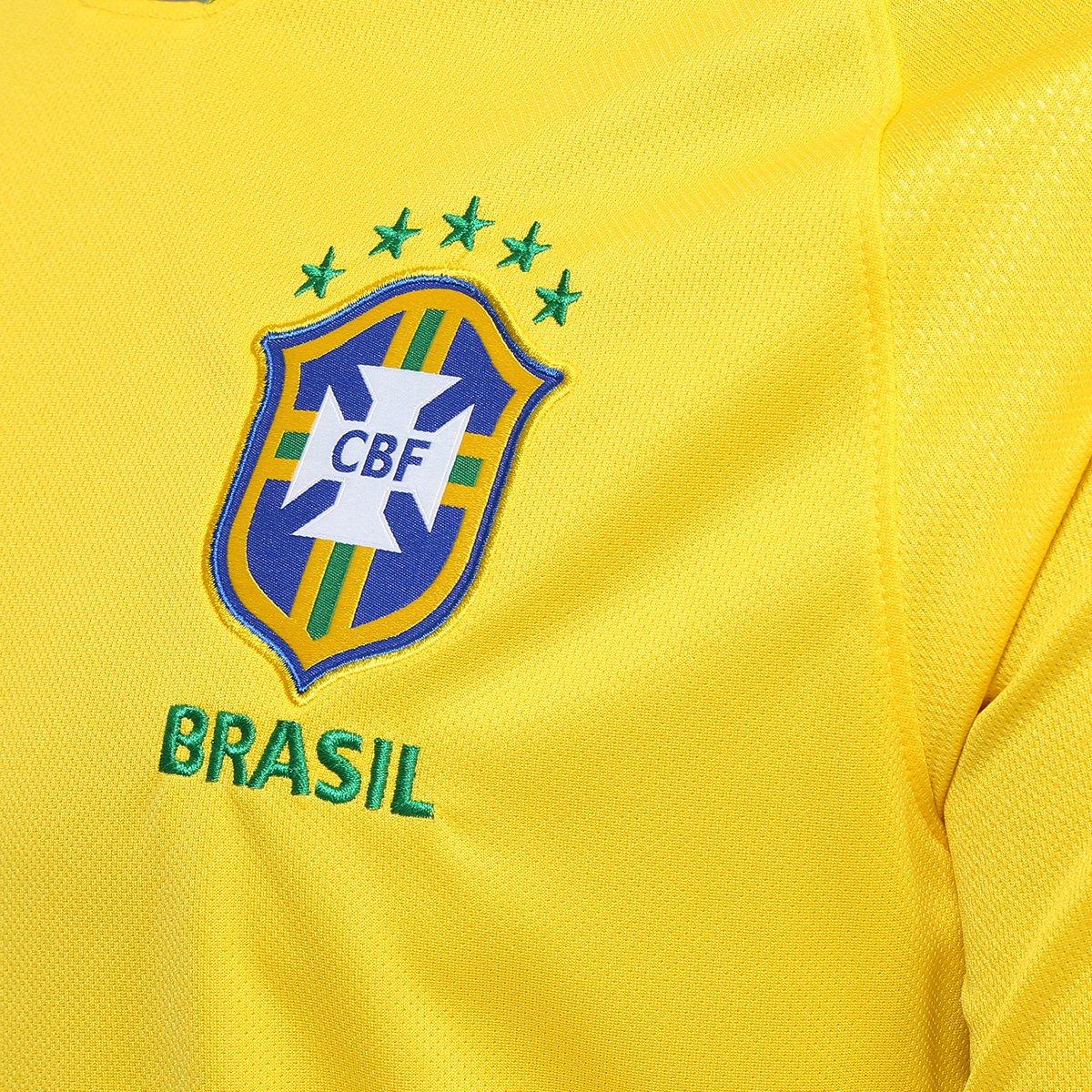 ... Camisa Seleção Brasil I 2018 nº 21 Taison - Torcedor Nike Masculina ... 33e8046cda977