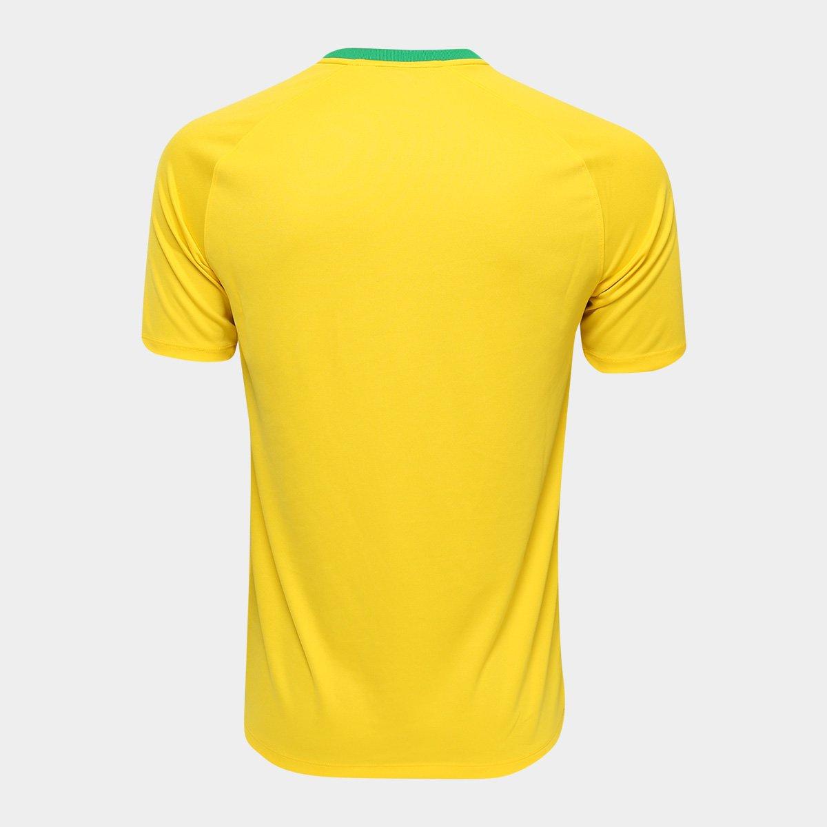... Camisa Seleção Brasil I 2018 s n° - Torcedor Estádio Nike Masculina ... 625861dce355c
