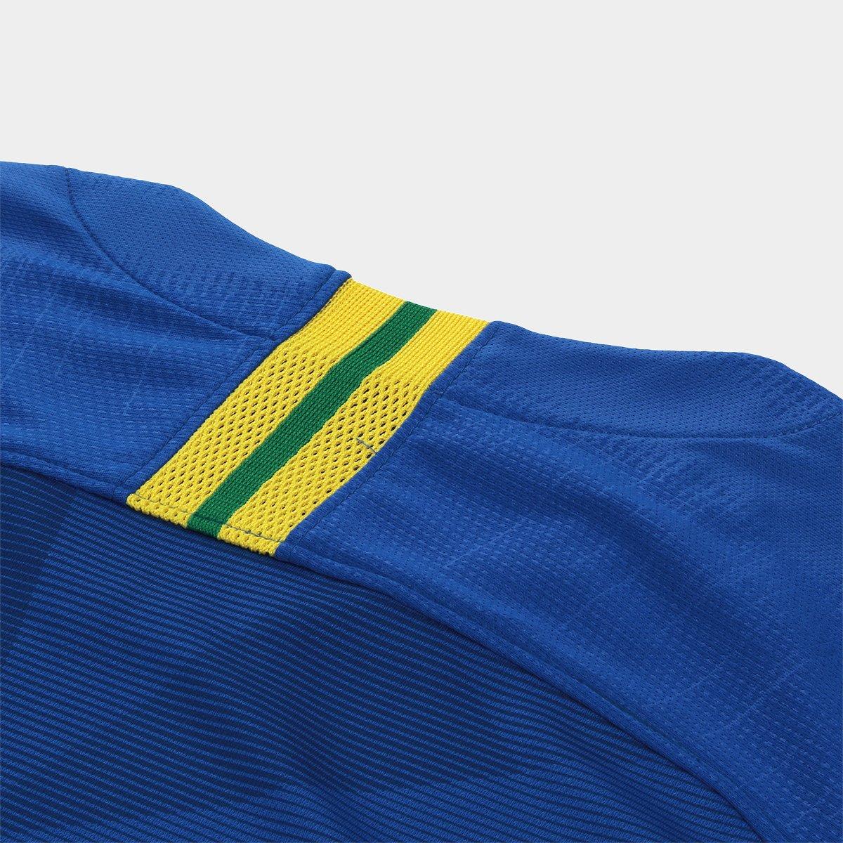 56dab14283 ... Camisa Seleção Brasil II 2018 nº 11 P. Coutinho - Torcedor Nike  Masculina ...