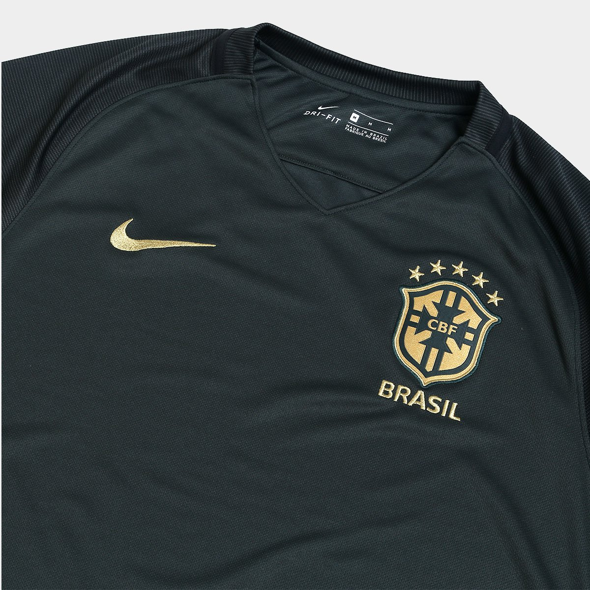 Camisa Seleção Brasil III 17 18 s nº Torcedor Nike Masculina ... 9bca76c93a1b5
