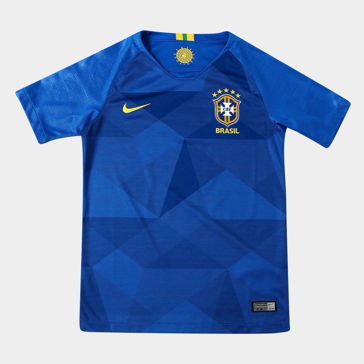 ... Camisa Seleção Brasil Juvenil II 2018 nº 9 G. Jesus - Torcedor Nike ... 4c64b8165b9cf